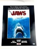 Richard Dreyfuss Authentic Autograph 16x20 Photo JAWS Movie RARE BAS COA
