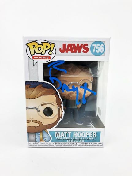 Richard Dreyfuss Autograph Funko POP Jaws Hopper Signed JSA COA 2