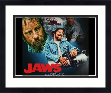 RICHARD DREYFUSS AUTOGRAPHED 16x20 COLOR PHOTO (JAWS) - W/ COA!