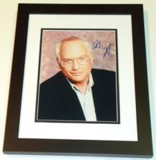Richard Dreyfuss Autographed 8x10 Photo BLACK CUSTOM FRAME