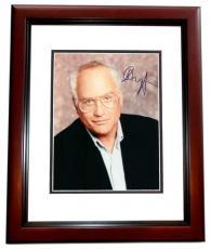Richard Dreyfuss Autographed 8x10 Photo MAHOGANY CUSTOM FRAME