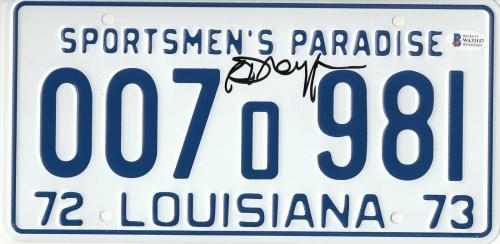 Richard Dreyfuss Autographed Jaws Signed License Plate Prop Beckett Bas Com 51