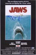 "Richard Dreyfuss Jaws Autographed 11"" x 17"" Movie Poster"