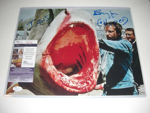 Richard Dreyfuss Jaws Hooper,close Encounters,actor Jsa/coa Signed 11x14 Photo