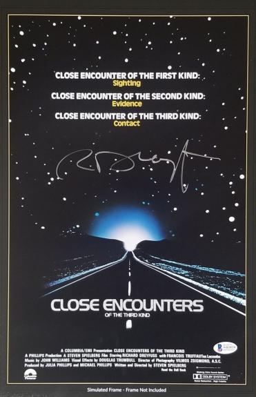 RICHARD DREYFUSS Signed 11x17 CLOSE ENCOUNTERS of the third kind Photo BAS COA