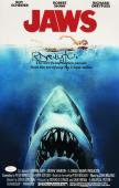 Richard Dreyfuss Signed 11x17 Jaws Movie Poster Photo JSA WP886939