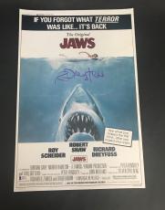 Richard Dreyfuss Signed Auto Jaws 12x18 Beckett Bas Coa 2
