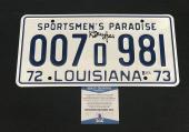 Richard Dreyfuss Signed Auto Jaws License Plate Beckett Witness  Bas Coa 8