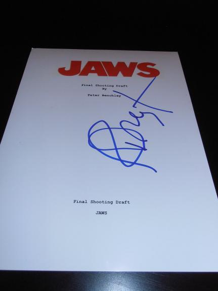 RICHARD DREYFUSS SIGNED AUTOGRAPH 8x10 PHOTO JAWS IN PERSON COA AUTO RARE X5