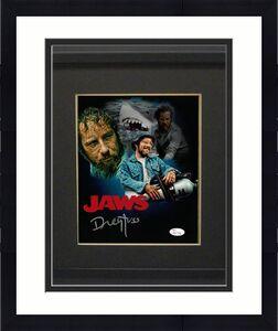 Richard Dreyfuss signed Jaws 8x10 Photo Collage Custom Framing - JSA Witnessed Hologram