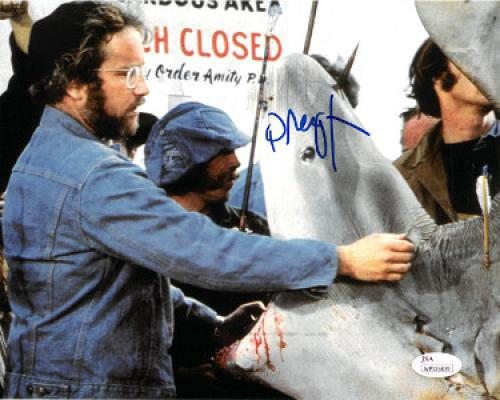 Richard Dreyfuss signed Jaws 8x10 Photo (Shark w/ Open Mouth)- JSA Witnessed Hologram