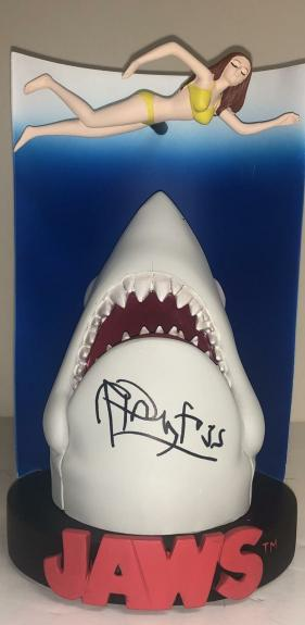 Richard Dreyfuss Signed Jaws Statue Authentic Autograph Proof Beckett Coa C