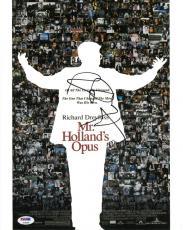 Richard Dreyfuss Signed Mr. Holland's Opus Auto 11x14 Photo PSA/DNA #AC95292