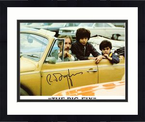 "RICHARD DREYFUSS-""The Big Fix"" as Moses Wine-Signed 8X10 Colored Photo"