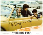 """RICHARD DREYFUSS-""""The Big Fix"""" as Moses Wine-Signed 8X10 Colored Photo"""