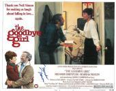 "Richard Dreyfuss/Marsha Mason Signed ""The Goodbye Girl"" 11x14 Lobby Card PSA/DNA"