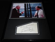 Richard Herd Signed Framed 11x14 Photo Display Seinfeld Mr Wilhelm