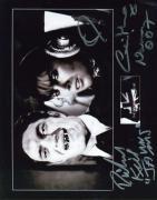 Richard Jaws Kiel Caroline Munro Psa Dna Signed 8x10 Photo Autograph Authentic