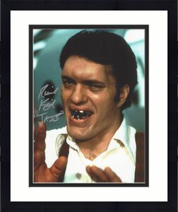 RICHARD KIEL as JAWS in JAMES BOND Movies (Passed Away 2014) Signed 8x10 Color Photo