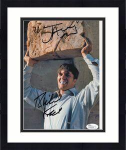 RICHARD KIEL HAND SIGNED 8x10 PHOTO    AMAZING POSE   JAWS FROM JAMES BOND   JSA