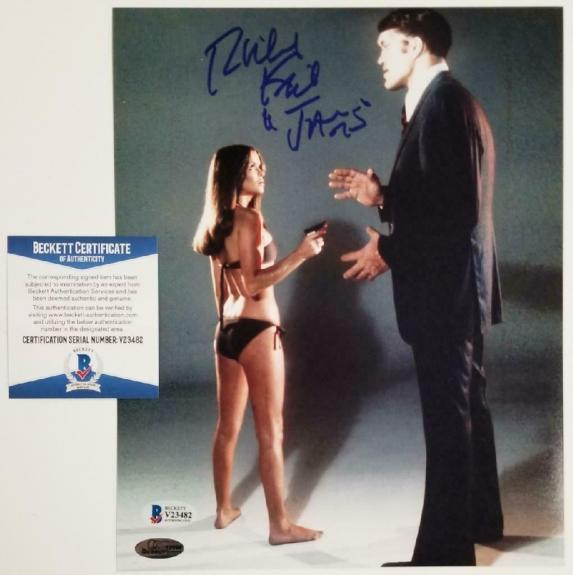 "Richard Kiel ""Jaws"" signed James Bond Moonraker 8x10 Photo ~ Beckett BAS COA"
