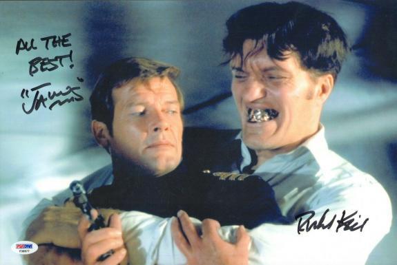 Richard Kiel Signed 10x15 Photo PSA/DNA James Bond 007 Moonraker JAWS Autograph