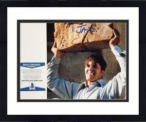 """Richard Kiel signed """"Jaws"""" 8x10 Photo #2 Spy Who Loved Me Autograph ~ BAS COA"""