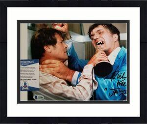 """Richard Kiel signed """"Jaws"""" 8x10 Photo Spy Who Loved Me Autograph ~ BAS COA"""