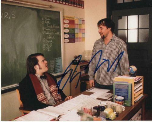 Richard Linklater Signed Autographed 8x10 Photo - Dazed And Confused, Jack Black