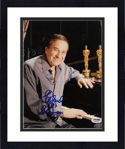 RICHARD M. SHERMAN Signed 8x10 Photo #4 DISNEY Song Writer PSA/DNA COA