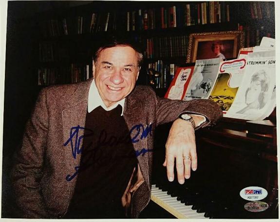 RICHARD M. SHERMAN Signed 8x10 Photo #5 DISNEY Song Writer PSA/DNA COA