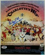 RICHARD M. SHERMAN Signed 8x10 Photo DISNEY Charlotte's Web PSA/DNA COA