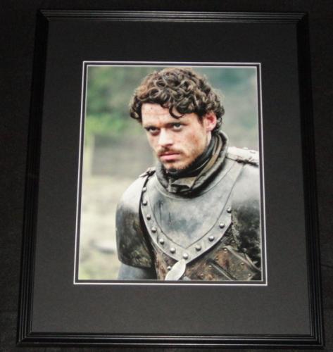 Richard Madden Game of Thrones Robb Stark Framed 11x14 Photo Poster