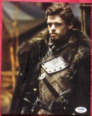 Richard Madden Game of Thrones signed 8x10 photo PSA/DNA Robb Stark