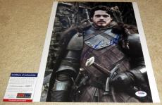 Richard Madden Signed 11x14 Robb Stark Game of Thrones PSA/DNA