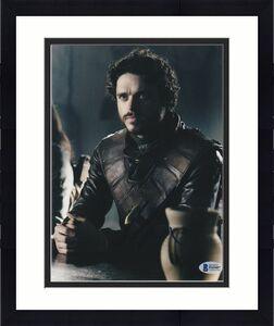 Richard Madden Signed 8x10 Photo Game Of Thrones Beckett Bas Autograph Auto B