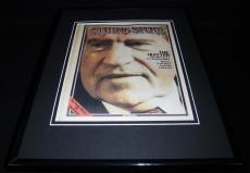 Richard Nixon 1974 Rolling Stone Framed Cover Poster Display 11x14 Official RP