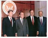 Richard Nixon & Gerald Ford Signed 8X10 Photo PSA/DNA #X03402