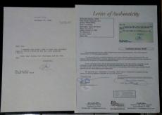 Richard Nixon President Signed Autographed Dec 20,1986 Letterhead Letter Jsa Loa