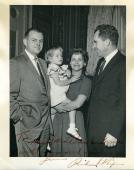 Richard Nixon Signed Jsa Certed 8x10 Photo Autograph