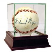 Richard Nixon Signed OAL Cronin Baseball PSA/DNA 6.5