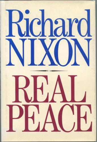 Richard Nixon US President Real Peace Rare Signed Autograph Book COA