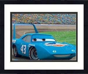 Richard Petty Signed Photo - 8x10 Racing Image #SC14 CARS MOVIE
