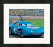 Signed Richard Petty Picture - 8x10 Racing Image #SC14 CARS MOVIE Matted & Framed