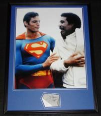Richard Pryor Signed Framed 18x24 Superman Photo Poster Display JSA