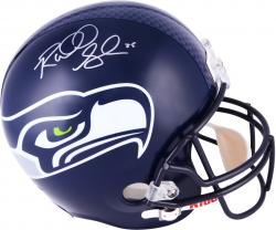 Richard Sherman Seattle Seahawks Autographed Riddell Replica Helmet - Mounted Memories