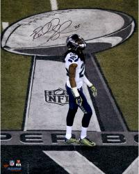 "Richard Sherman Seattle Seahawks Super Bowl XLVIII Champions Autographed 16"" x 20"" Photograph"