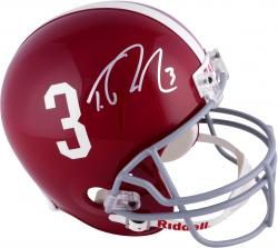 Trent Richardson Alabama Crimson Tide Autographed Riddell Replica Helmet with 3 Inscription