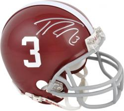 Trent Richardson Alabama Crimson Tide Autographed Mini Helmet - Mounted Memories