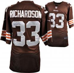 Trent Richardson Cleveland Browns Autographed Nike Brown Jersey - Mounted Memories